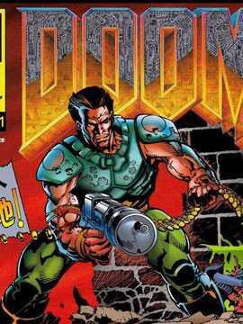 《毁灭战士(DOOM)》官方漫画